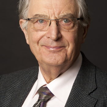 Portrait photo of Gerhart Rudolf Baum, Federal Minister (ret.), and member of the Dresden delegation for the jury presentation